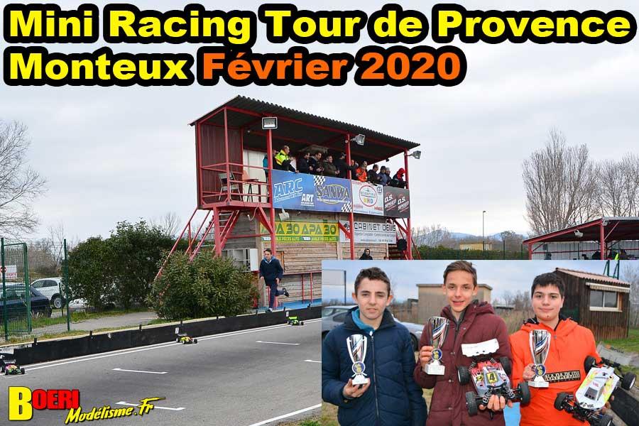 Mini Racing Tour de Provence Monteux Fevrier 2020