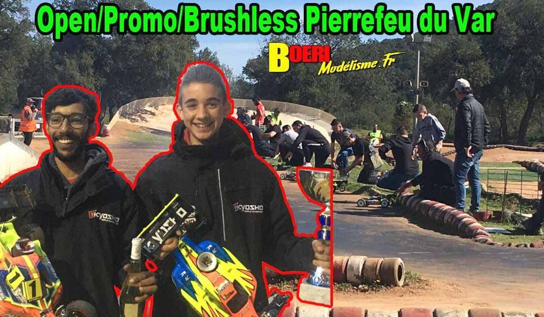 Open Promo Brushless TT 1/8 Pierrefeu du Var Vamp83