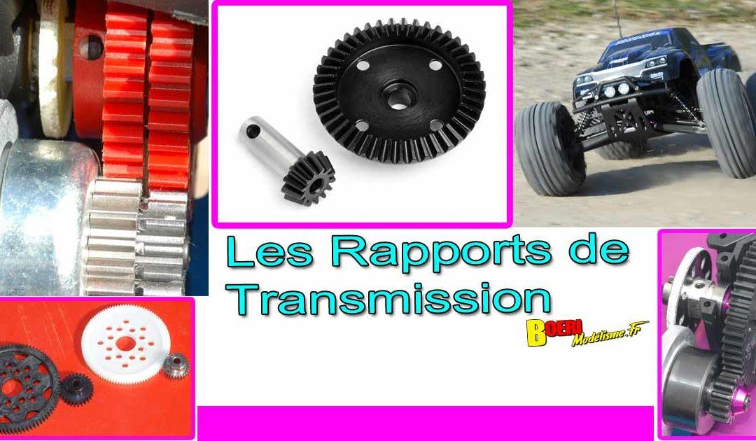 Les Rapports de Transmission en Voiture RC
