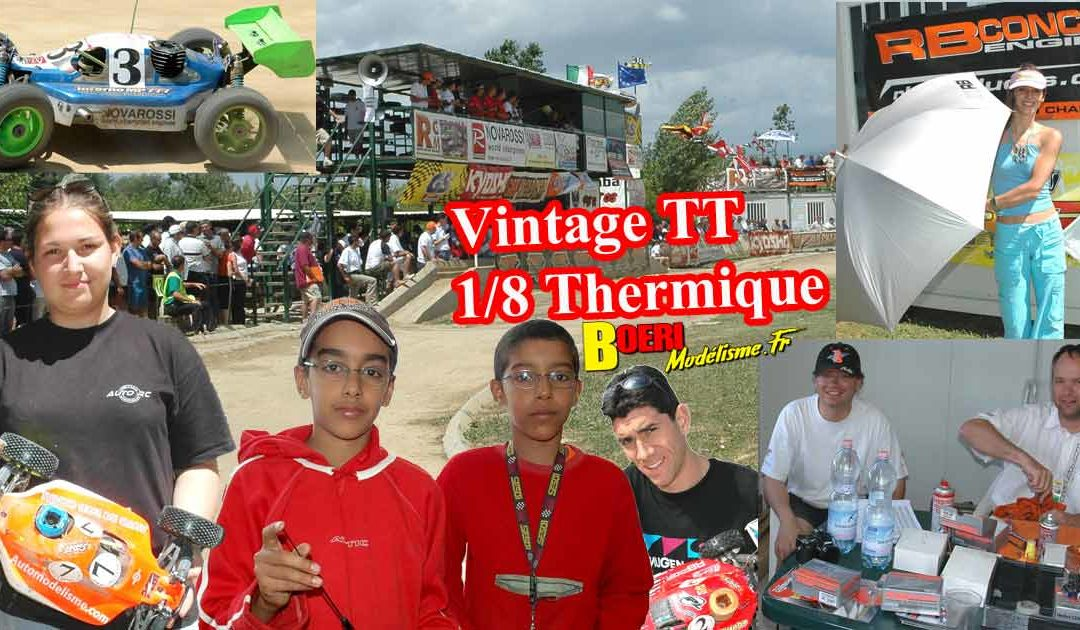 Album Modelisme Vintage TT 1/8 Thermique Partie 3