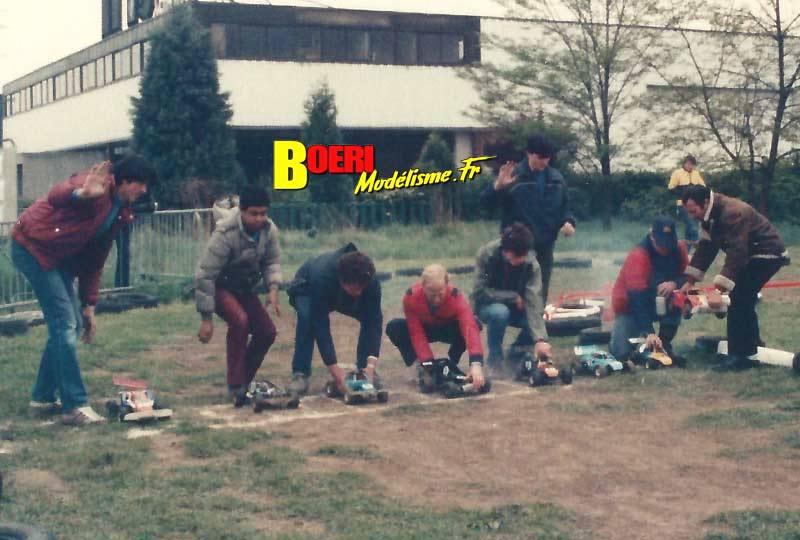 album modélisme vintage tt 1/8 thermique 1980-1990