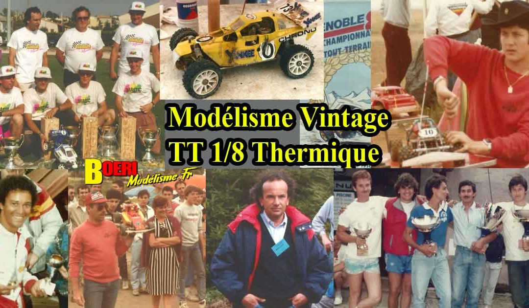 Album Modelisme Vintage TT 1/8 Thermique