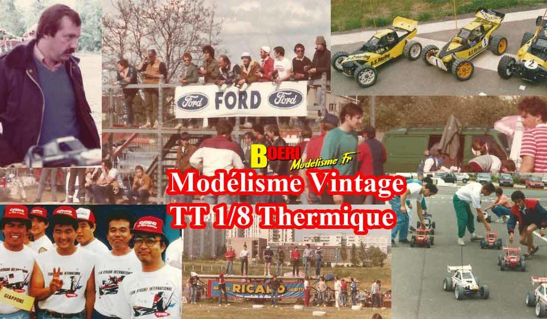 Album Modelisme Vintage TT 1/8 Thermique Partie 2