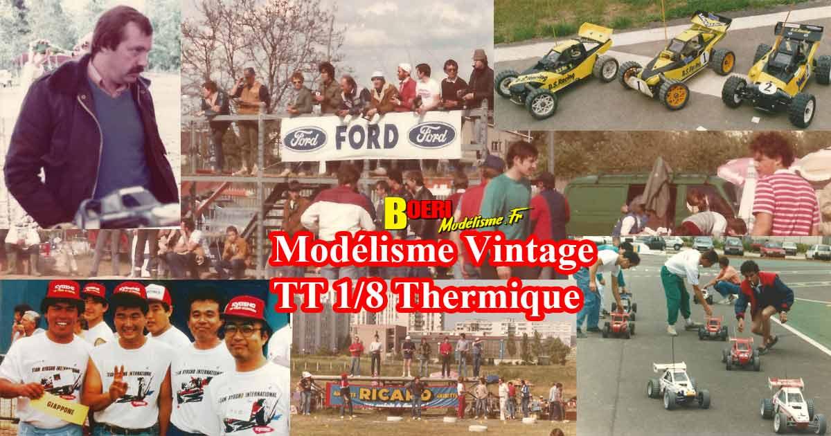 album modélisme vintage tt 1/8 thermique 1980-1990, philippe boeri, pascal gueye, claude lachat, ttmc, gilles di lorenzo, ttmc, rueuil malmaison