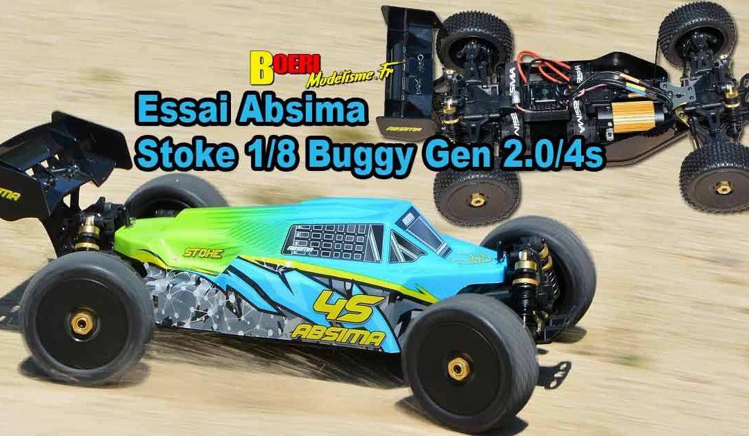 [Essai] Absima Stoke Gen 2.0 4S RTR