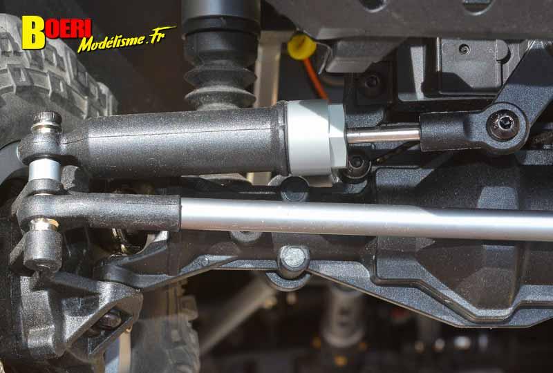 essai absima sherpa cr3.4 crawler électrique 1/10 réf 12011 distribué par gvp racing