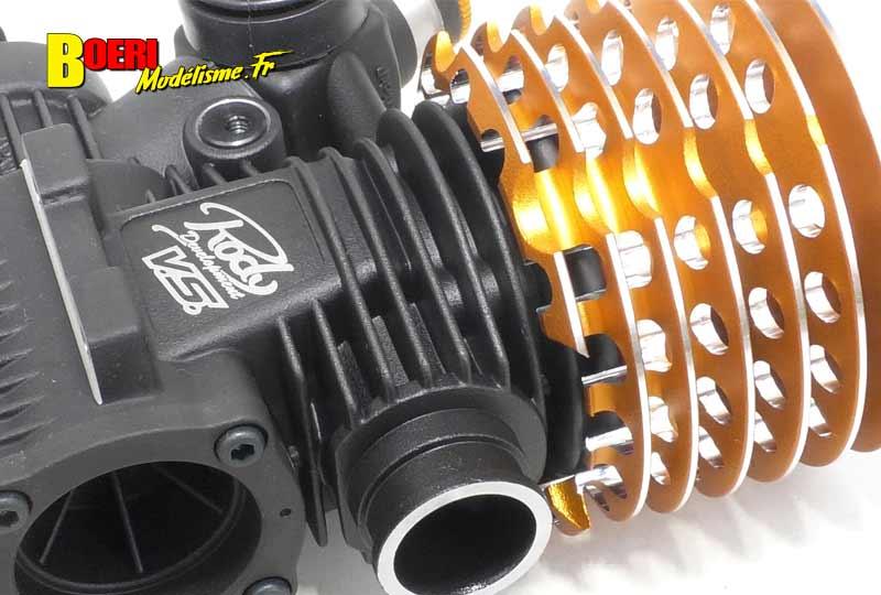 moteur thermique vs racing vsr05 on road piste 3.5 cm3 avec nouvelle chemise 9 transferts et culasse by world champion product