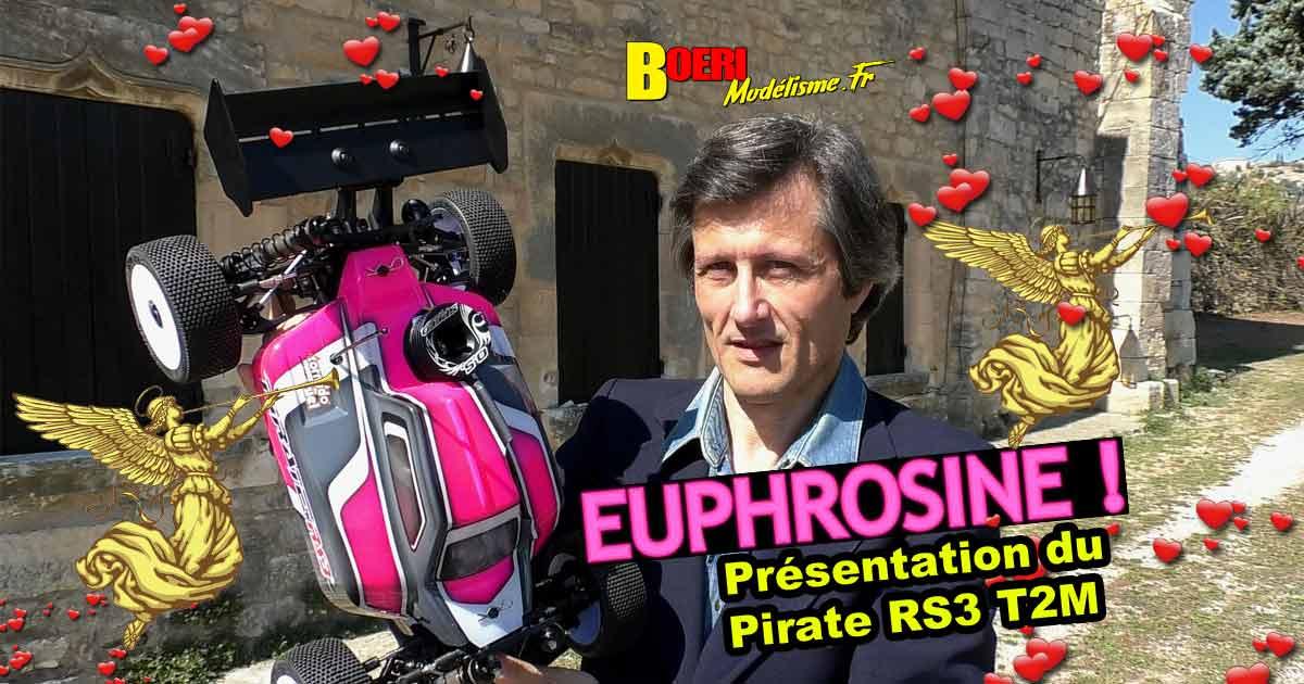 vidéo pirate rs3 t2m buggy 1/8 thermique t4960 voiture télécommandée de modélisme