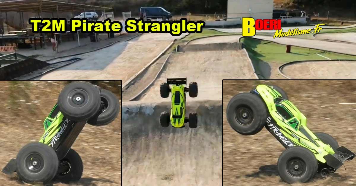 vidéo pirate strangler t2m truggy 1/10 xl brushless t4951 distribué par t2m pour boerimodelisme.fr