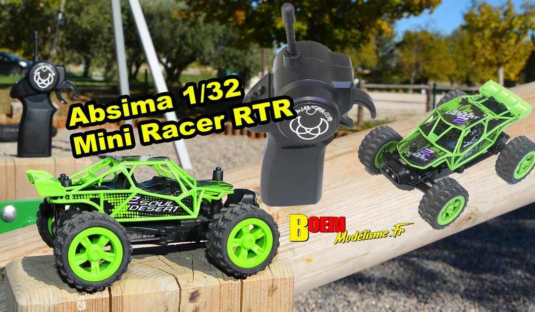 [Essai] Absima 1/32 Mini Racer RTR