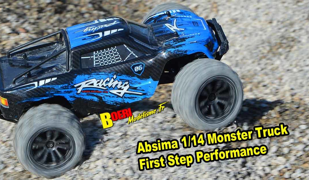 Absima 1:14 Monster Truck First Step Performance