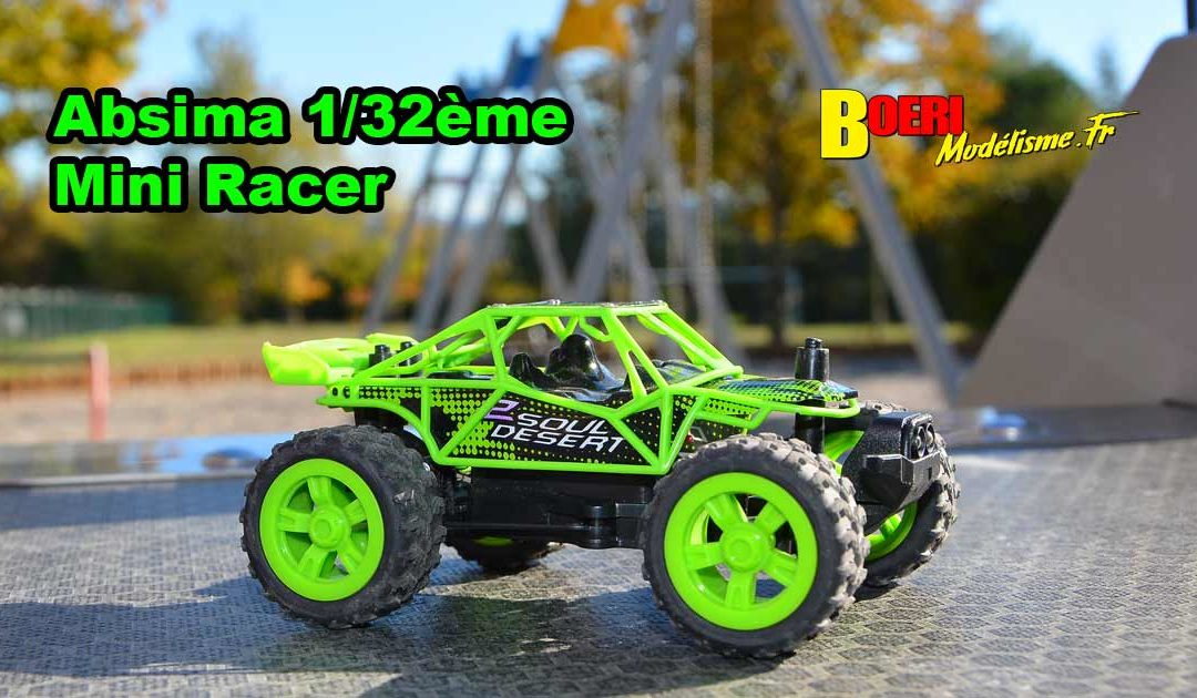 [Video] Absima 1/32 Mini Racer RTR