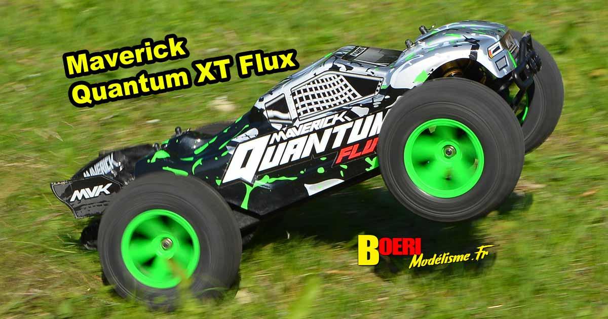 vidéo maverick quantum xt flux stadium truck électrique 1/10 réf 150206