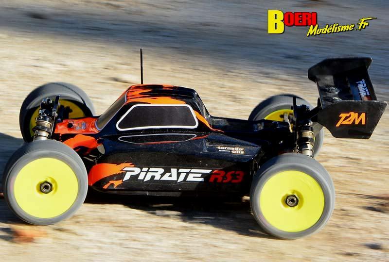 essai t2m pirate rs3e tt 1/8 électrique brushless t4962 buggy de modélisme rc electro kit