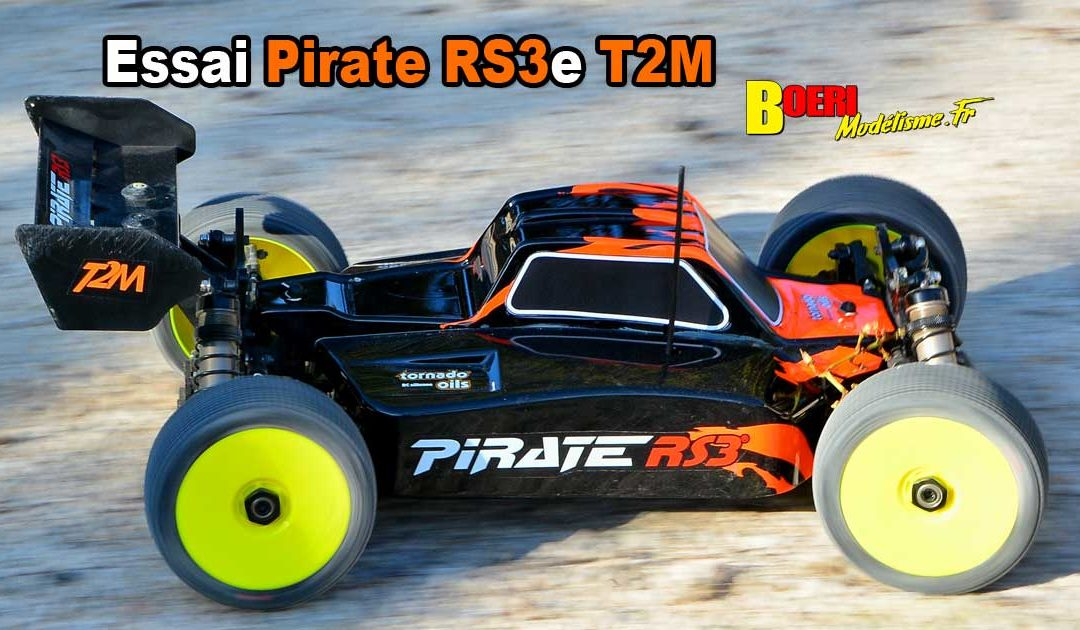 [Essai] T2M Pirate RS3e Buggy Brushless T4962