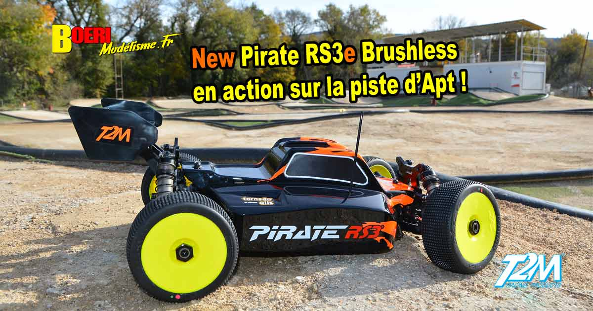 vidéo t2m pirate rs3e tt 1/8 électrique brushless t4962 voiture de modélisme rc