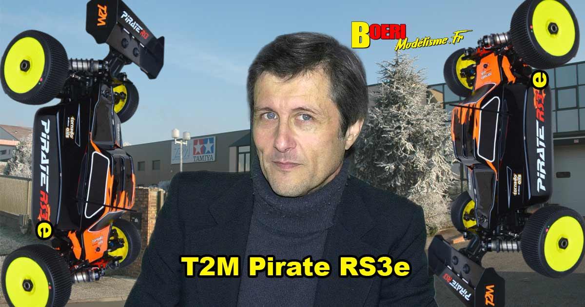 vidéo 15 raisons d'acheter le pirate rs3e t2m buggy tt 1/8 électrique brushless t4962