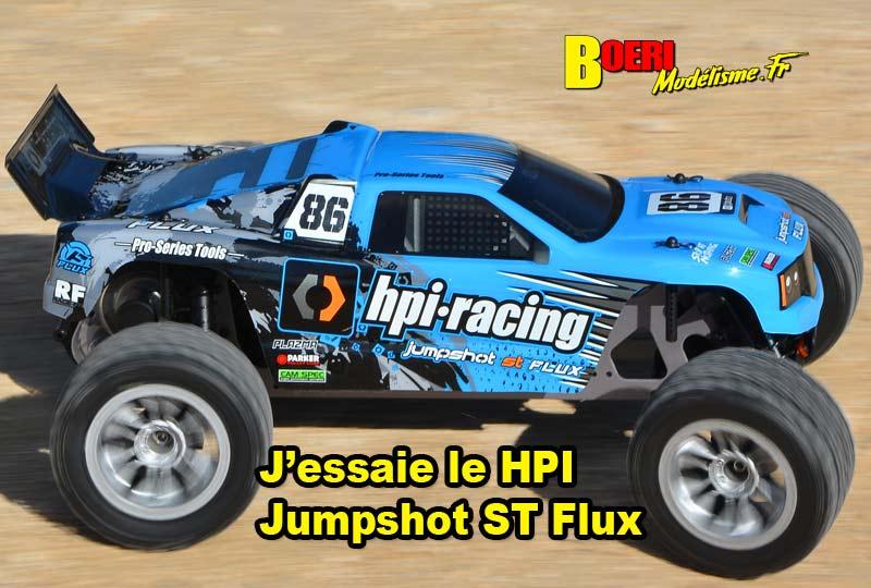 [Video] J'essaie le HPI Jumpshot ST Flux