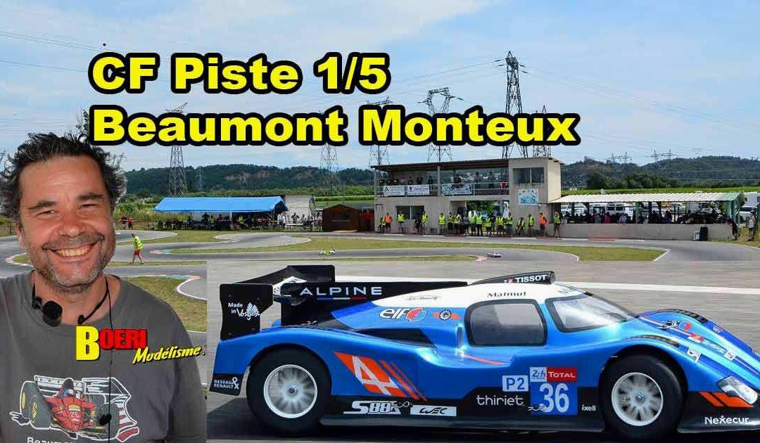 1ere CF Piste 1/5 Beaumont Monteux BMVRC
