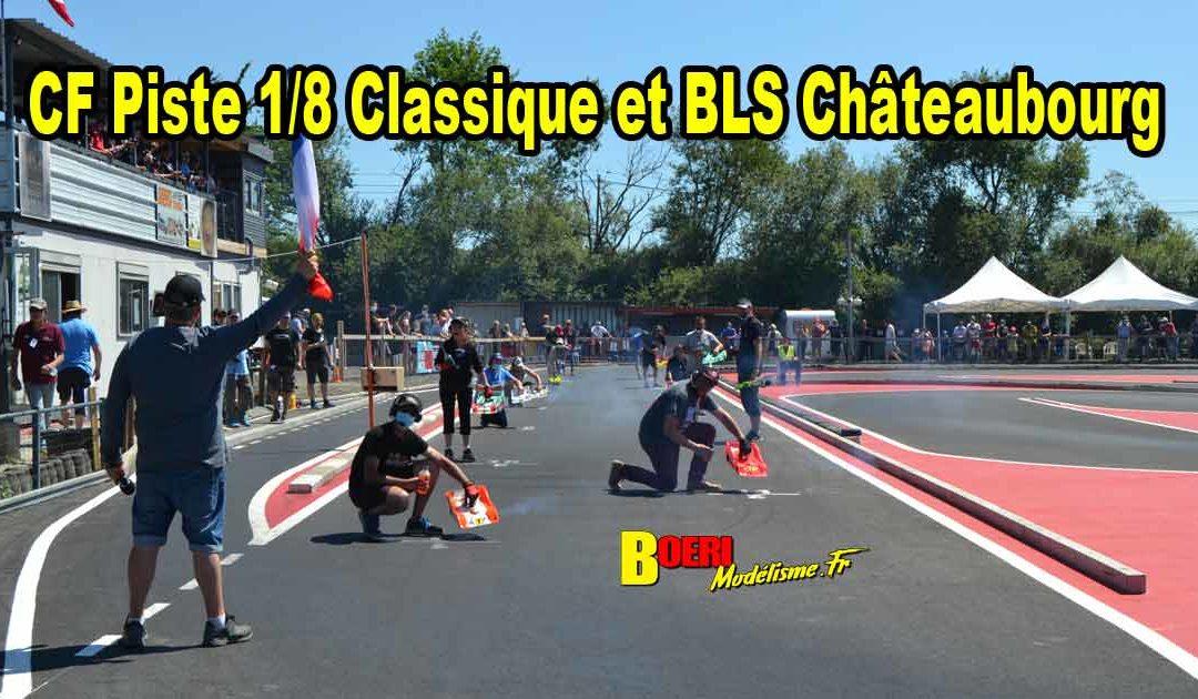 1ere CF Piste 1/8 Classique et Brushless Chateaubourg CPBVRC