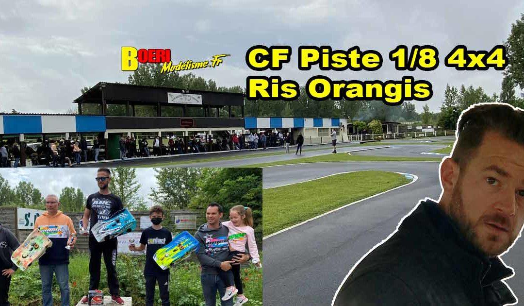 2eme CF Piste 1/8 4×4 et Brushless Ris Orangis MRTE