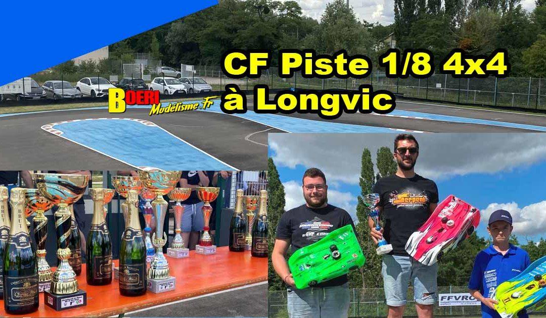 3eme CF Piste 1/8 4×4 et Brushless Longvic MRCL