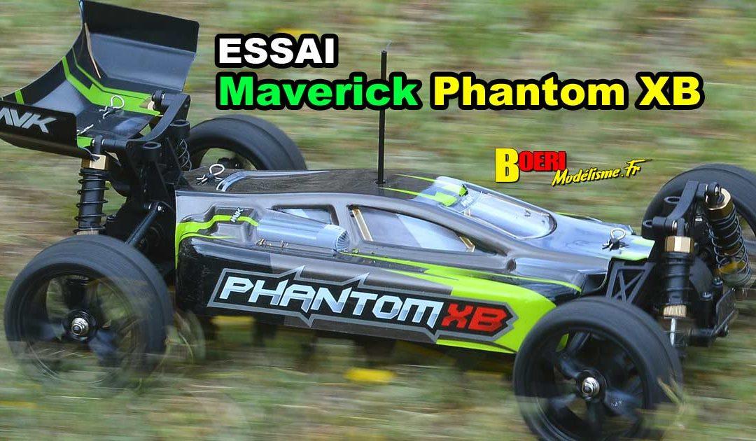 [Essai] Maverick Phantom XB 1/10 RTR