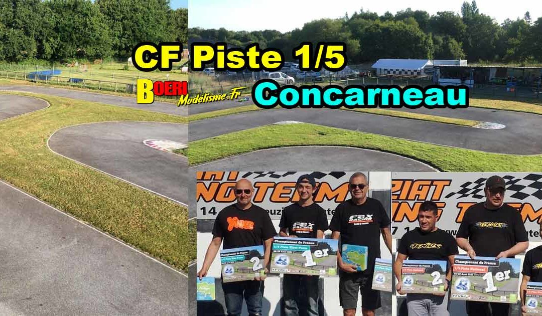 4eme CF Piste 1/5 Concarneau MCC