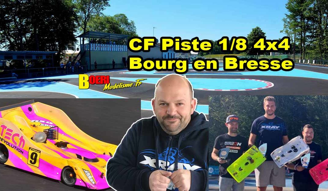 4eme CF Piste 1/8 4×4 et Brushless Bourg en Bresse BMRC