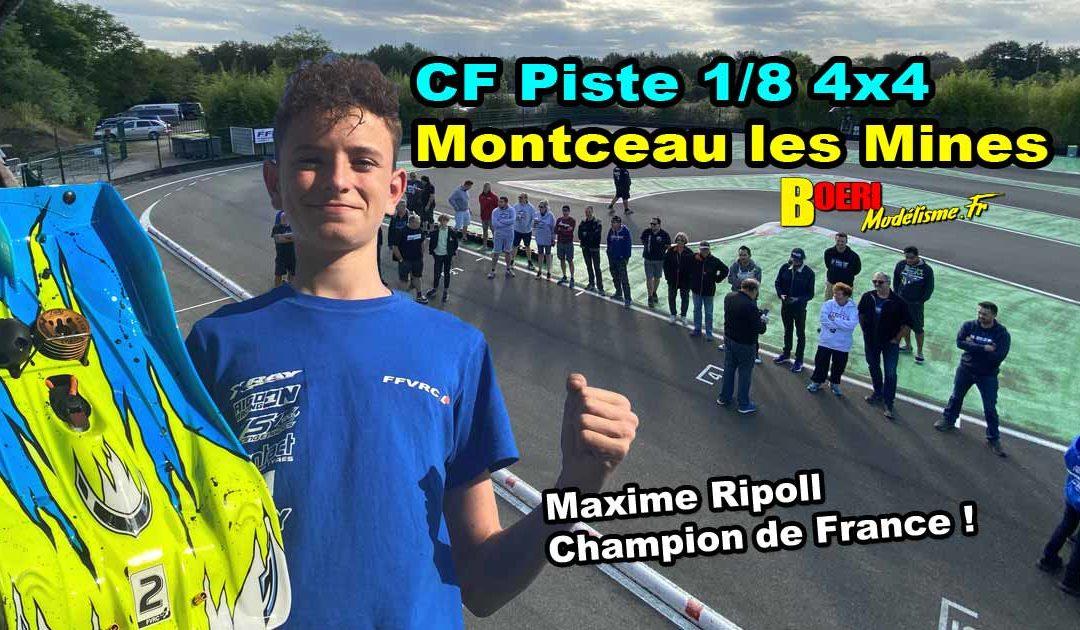 5eme CF Piste 1/8 4×4 et Brushless Montceau les Mines CMARC