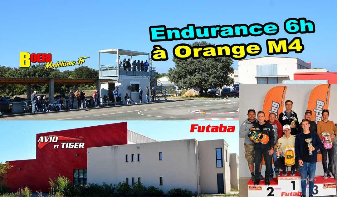 Endurance Mini Racing Tour de Provence Orange MCT M4