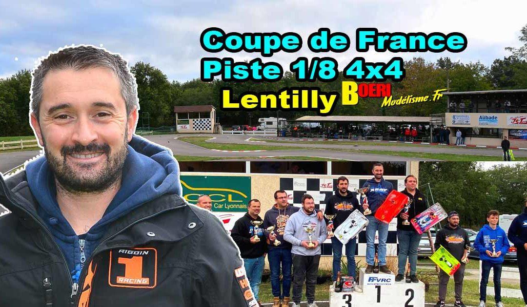 Coupe de France Piste 1/8 4×4 et Brushless Lentilly RCCL