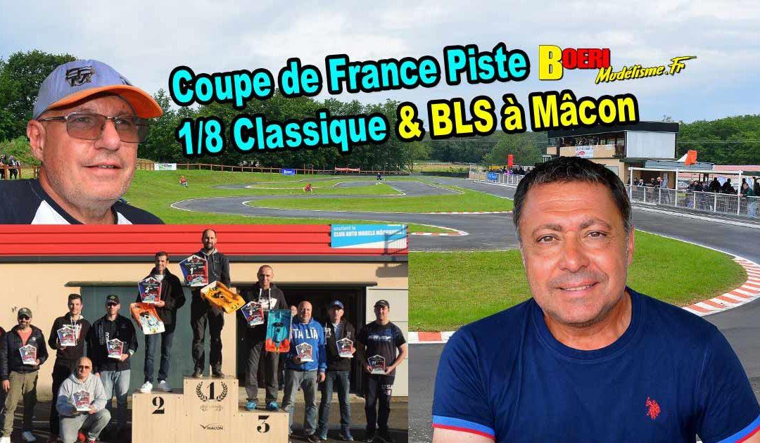 Coupe de France Piste 1/8 Classique et Brushless Mâcon CAMM