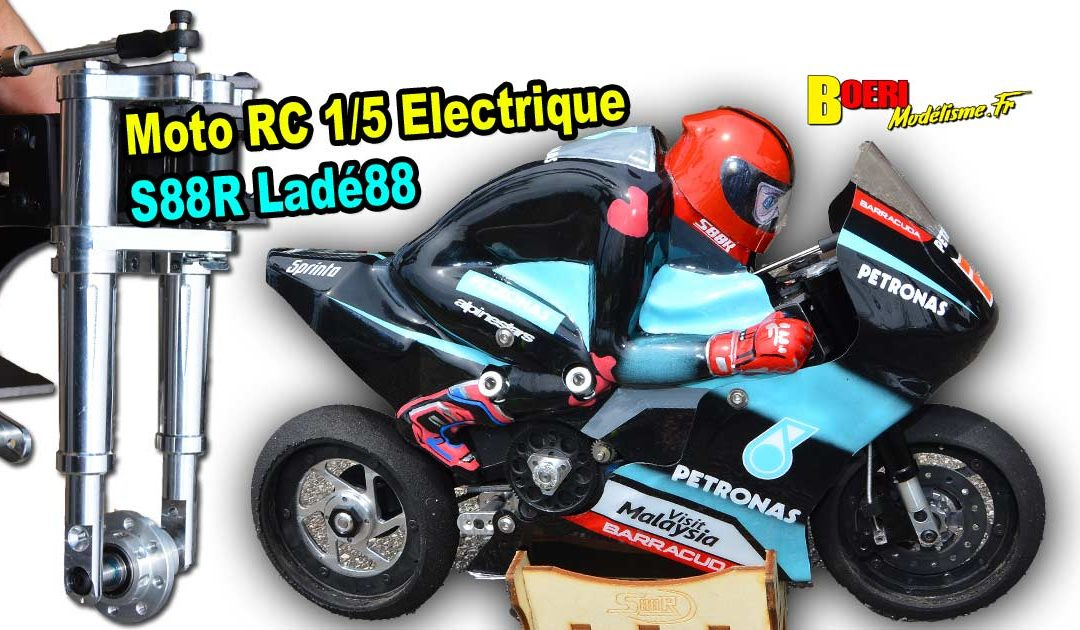 Moto RC 1/5 Electrique S88R Lade88