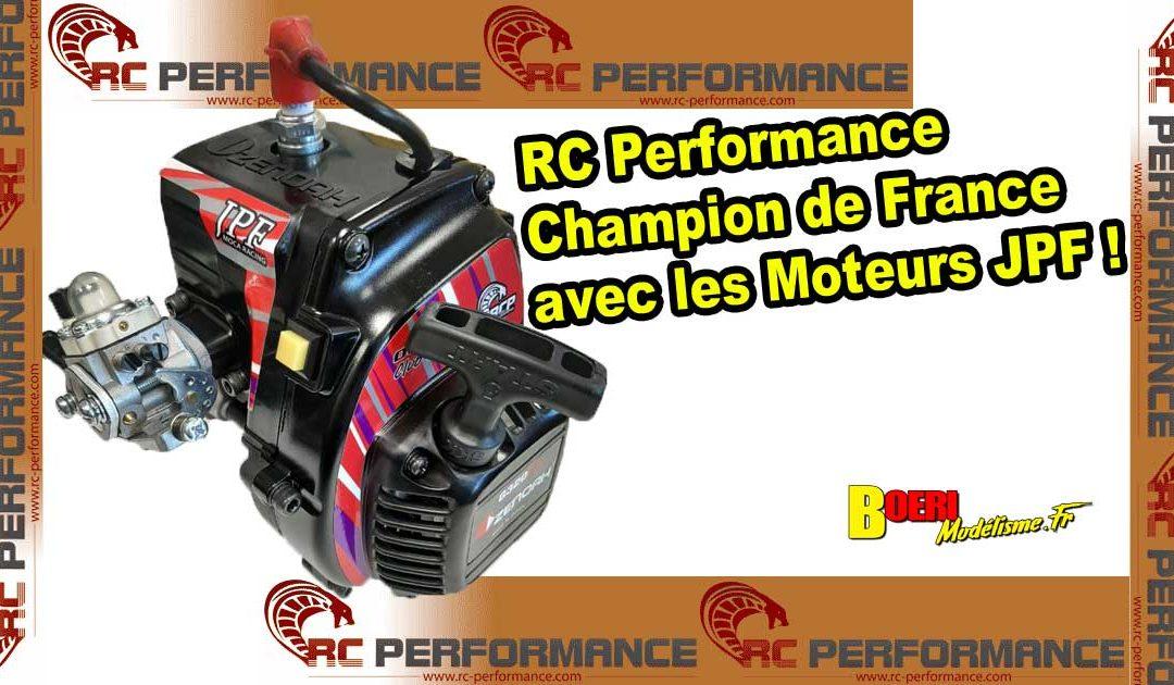 RC Performance Champion de France avec JPF Engines